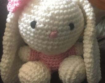 Amigurumi stuffed bunny