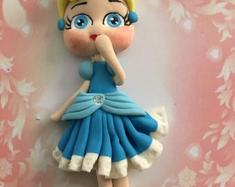 Cinderella Clay Figure