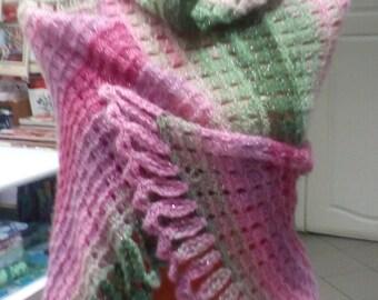 Палантин/ Wide scarf