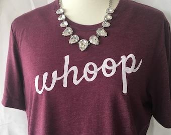 Aggie WHOOP tshirt