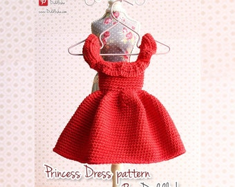 crochet Princess dress pattern by diddlisha