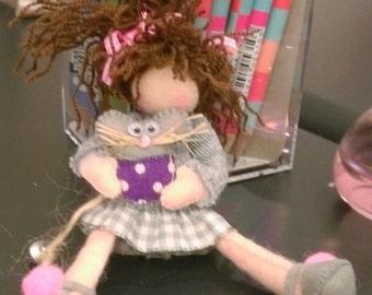 Messy Girl Figure