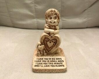 Paula Figurine I Love You In Big Ways, 1975