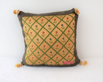 The French collection Gold: Small, Cushion cover, pillow, pillow refined, elegant gift for her, gift for him