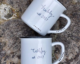 Couples mugs wedding gift engagement gift couple mugs his and hers mugs coffee mug couples mug set mr and mrs mugs anniversary gift wifey