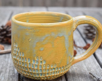 Imprinted Green Mug IV