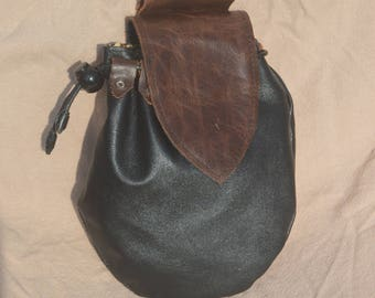 Leather handmade Smartphone belt pouch.
