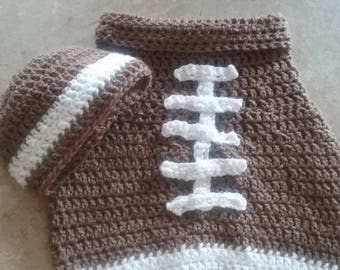Football baby cacoon