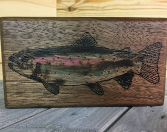 Fly Fishing, Fly Box, Fly Fishing Gifts, Fishing Box, Fishing Gifts, Gift for Fisherman, Fisherman, Trout, Rainbow Trout, Trout Flies, Flies