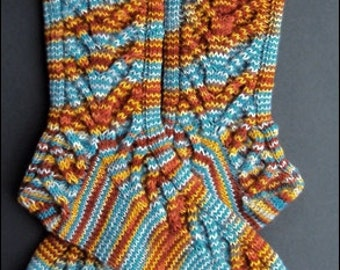 Handknitted socks size. 40/41