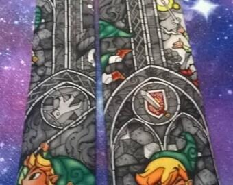 Zelda, Stainglass Link Neck tie