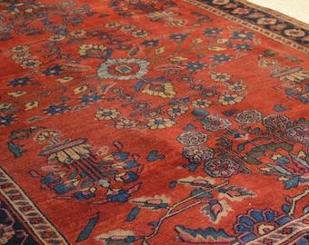 Vintage Persian Sarogh Rug