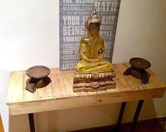 Handmade Reclaimed Wood Sideboard Table