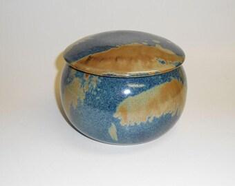 Candy jar - ceramic jar - pottery jar - lidded jar - storage jar - decorative jar