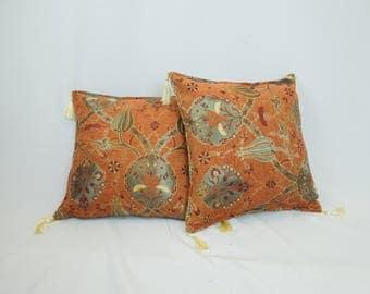 Handmade luxury decorative pillow cases - Set of 4