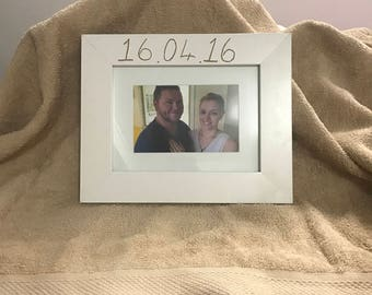 Custom/Personalized Frame Engraving