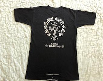 CHROME HEARTS x KYOSUKE Himuro Album Japanese Band T-Shirt Cross Goth
