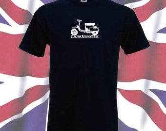 Lambretta scooterist, mod T shirt  S - 3XL