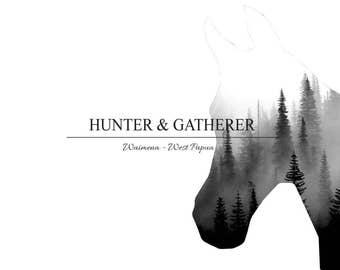 Premade outdoor Logo. Business Branding. Marketing Logo. Advertising. Illustrator.  Graphic. Digital Advertising design. Horses