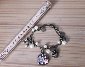 Athena handmade, pearl, bracelet