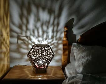 Dodecahedron shadow lamp, Kit without necessity of tools