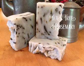 6 Bars of Goat Milk Soap. All Natural. Essential Oil. Handmade, Handcrafted Face & Body Soap.