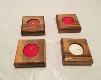 Handmade Tealight Candle Holder
