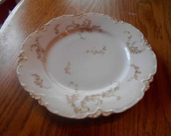 luncheon plate vintage