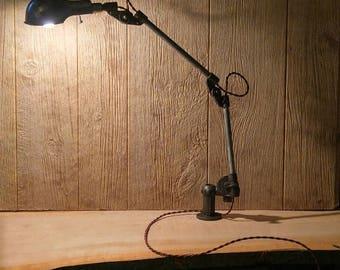 Vintage Industrial machinist task lamp