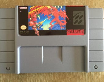 Super Metroid Super Nintendo SNES Game