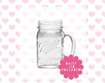 Mason Jar 475ml Drinking Jar