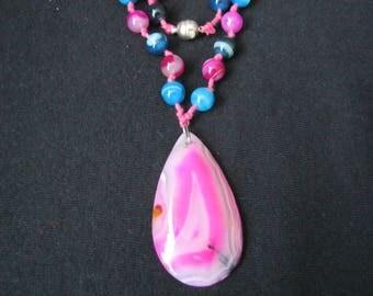 gemstone necklase