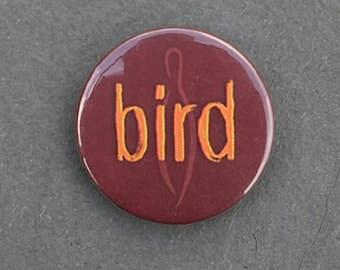 Bird button badge