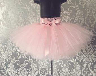 Girls Handmade Tutu - Baby Pink