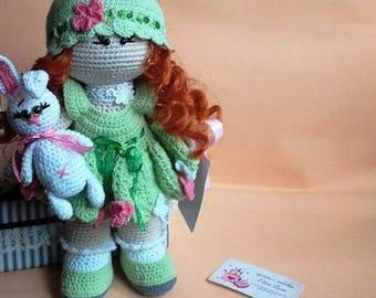 Crochet Doll Amigurumi Tilda fairy