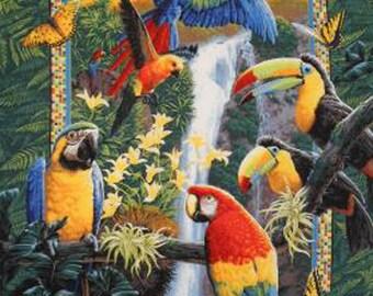 TropicaL Birds Parrots ButterfLies Cross Stitch Pattern***L@@K***