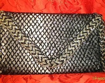 Винтажная театральная сумочка-клатч 1949 год / Vintage theatrical bag