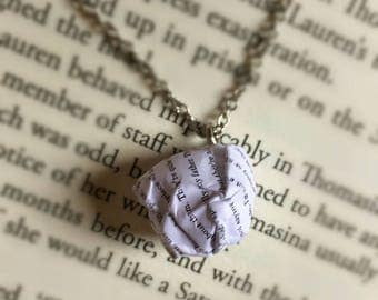 The Great Gatsby - Paper Ball Pendant