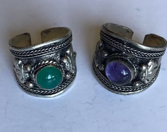 Tibetan Dorje Ring