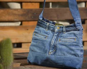 Upcycling jeans bag