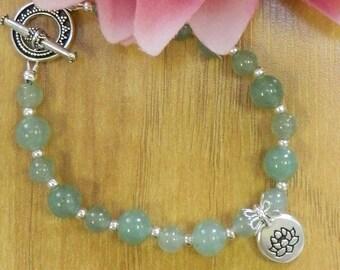 AVENTURINE bracelet,Aventurine jewelry,Gemstone jewelry,Gemstone bracelets,Heaing jewelry,Healing bracelets,