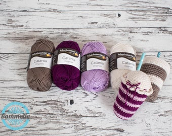 Selected yarn for pattern Milkshake and Coffee-to-go