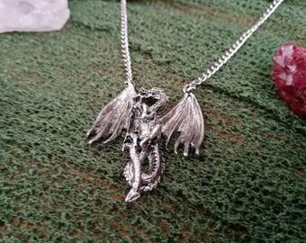 Gothic/Fantasy Necklace - Dragon