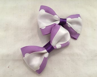 Mini bow sets perect for little girl pig tails