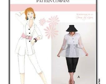 Sew Chic Vintage Style Blouse & Pants Pattern Phantom  #LN1106