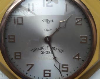 Gilbert Advertising Wall Clock