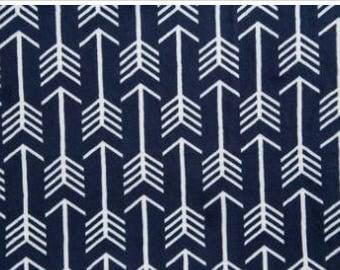 Navy/Snow Premier Archer Arrow Cuddle From Shannon Fabrics
