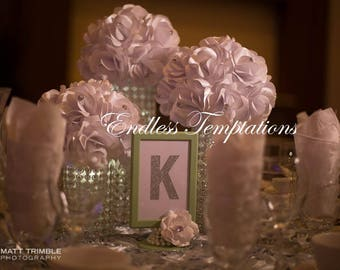 Custom Table Numbers/Letters