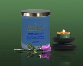 Thyme & Olive Leaf Soy Wax Candle