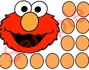Elmo Game Pin Elmos Nose
